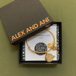 Alex and Ani Live a Happy Life Charity Bracelet